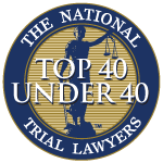 Top 40 Under 40 Badge