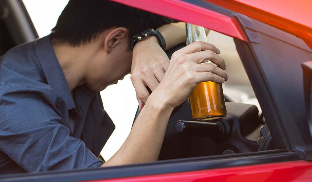 dui-parked vehicle