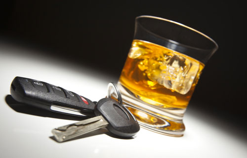 Concept of doctor getting DUI in Oregon